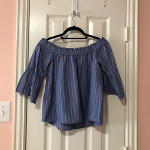 Abercrombie & Fitch Tops - Abercrombie & Fitch Off the Shoulder Blouse